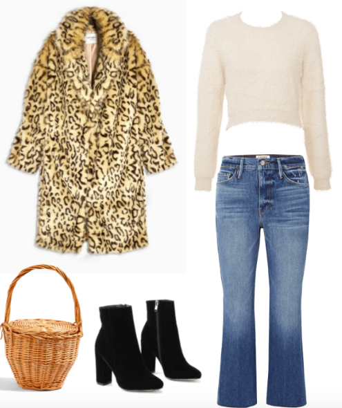 French outfit combo for fall