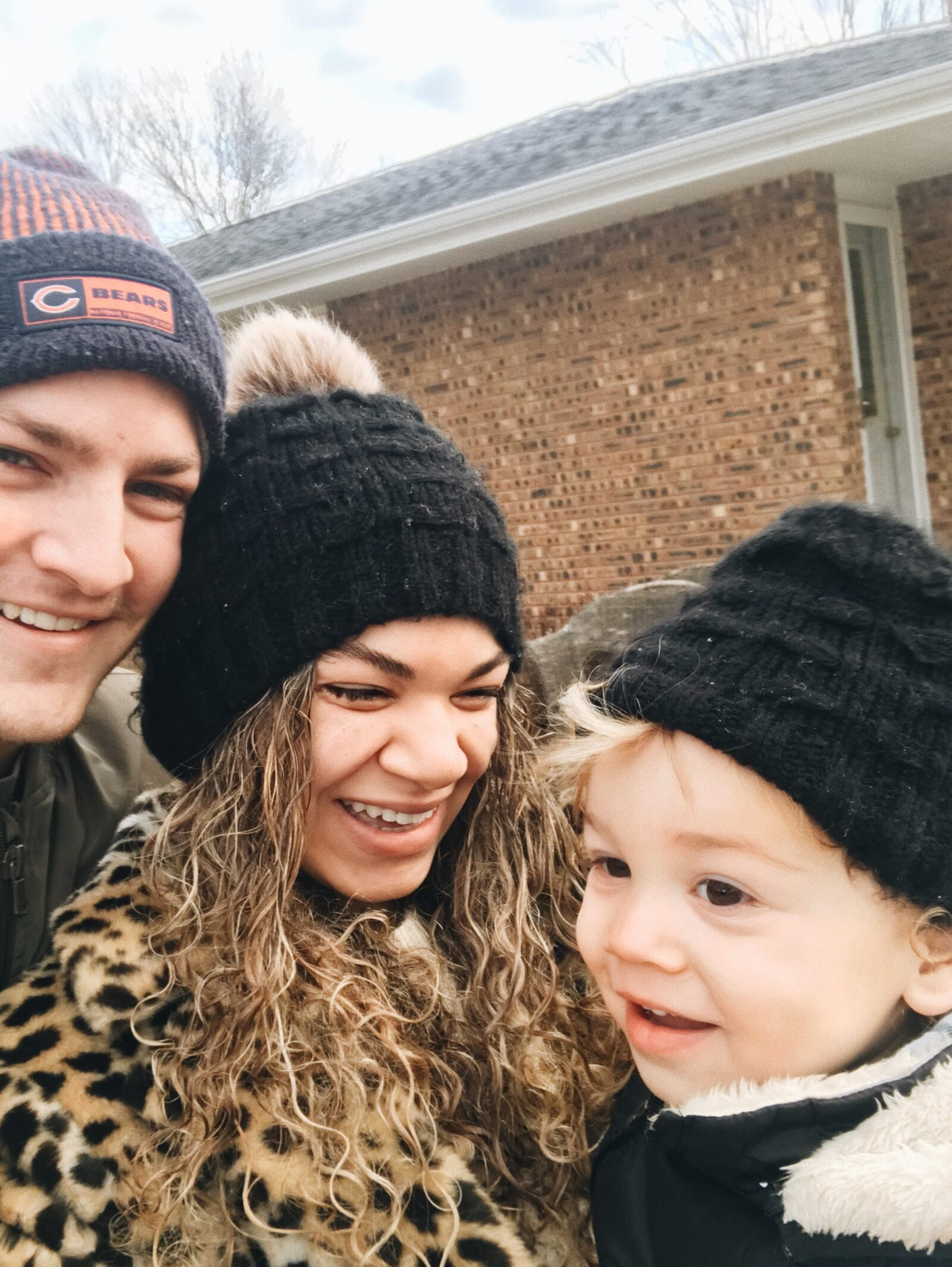 family of 3 closing on second home