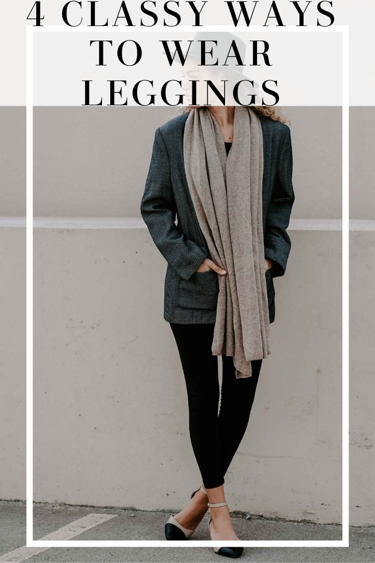 different ways to wear leggings