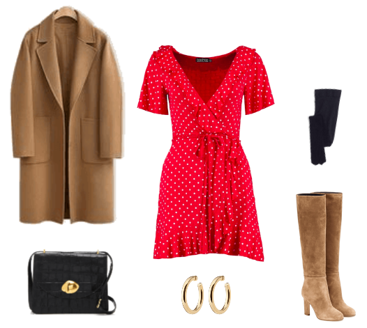 fall French outfit combo