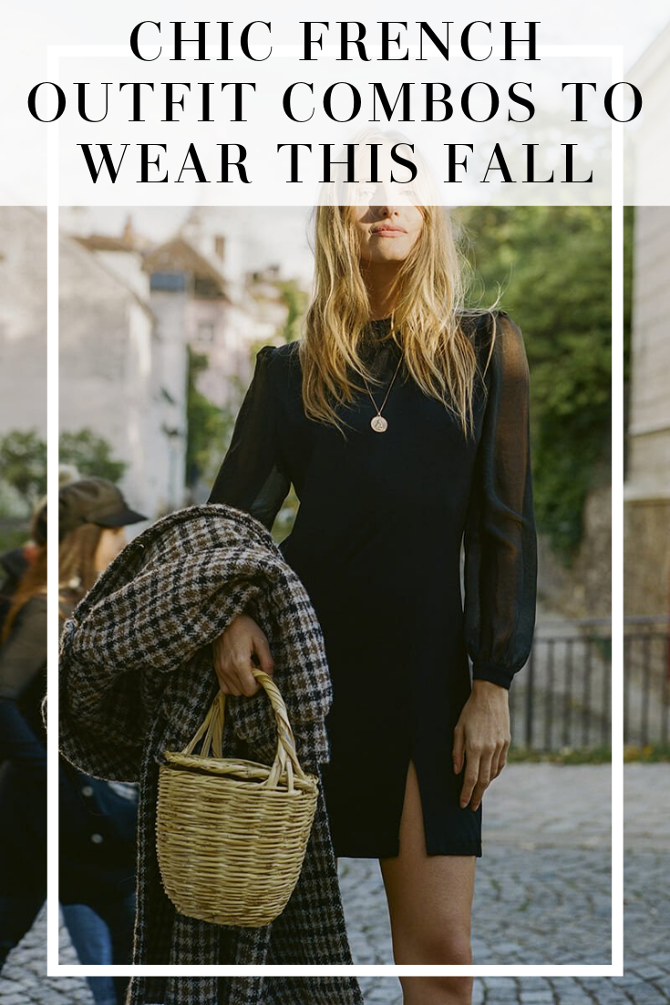 french outfit combo fall