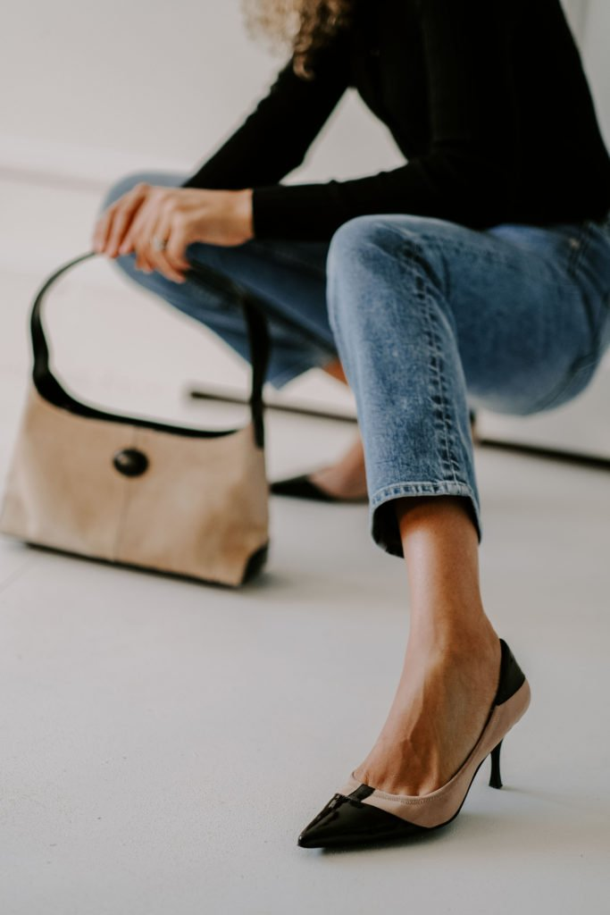 classic straight leg jean outfit