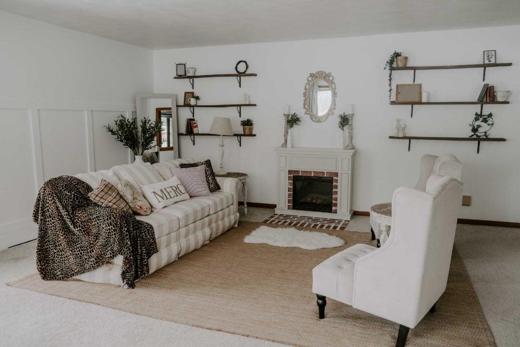 living room below
