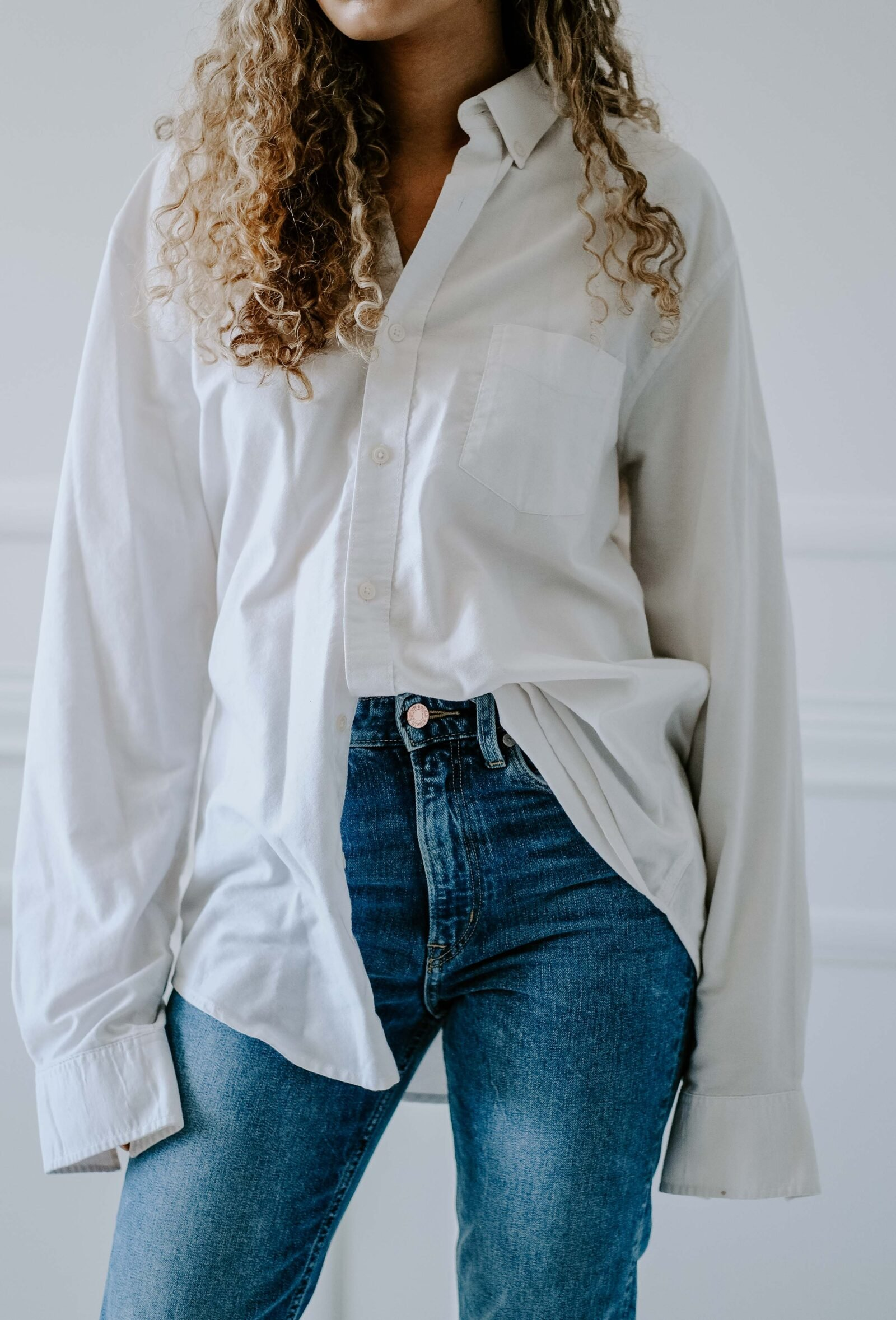 white button down outfit
