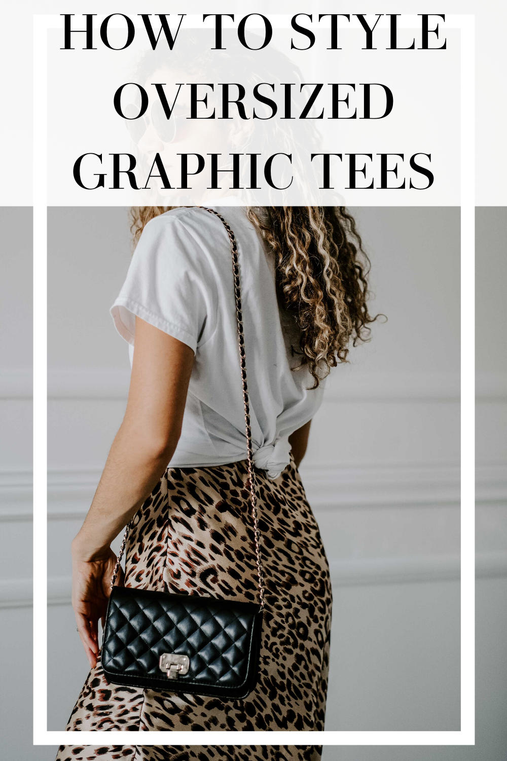 how to style oversized graphic tees
