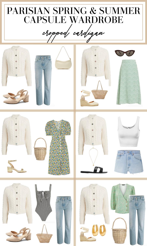 parisian summer capsule wardrobe