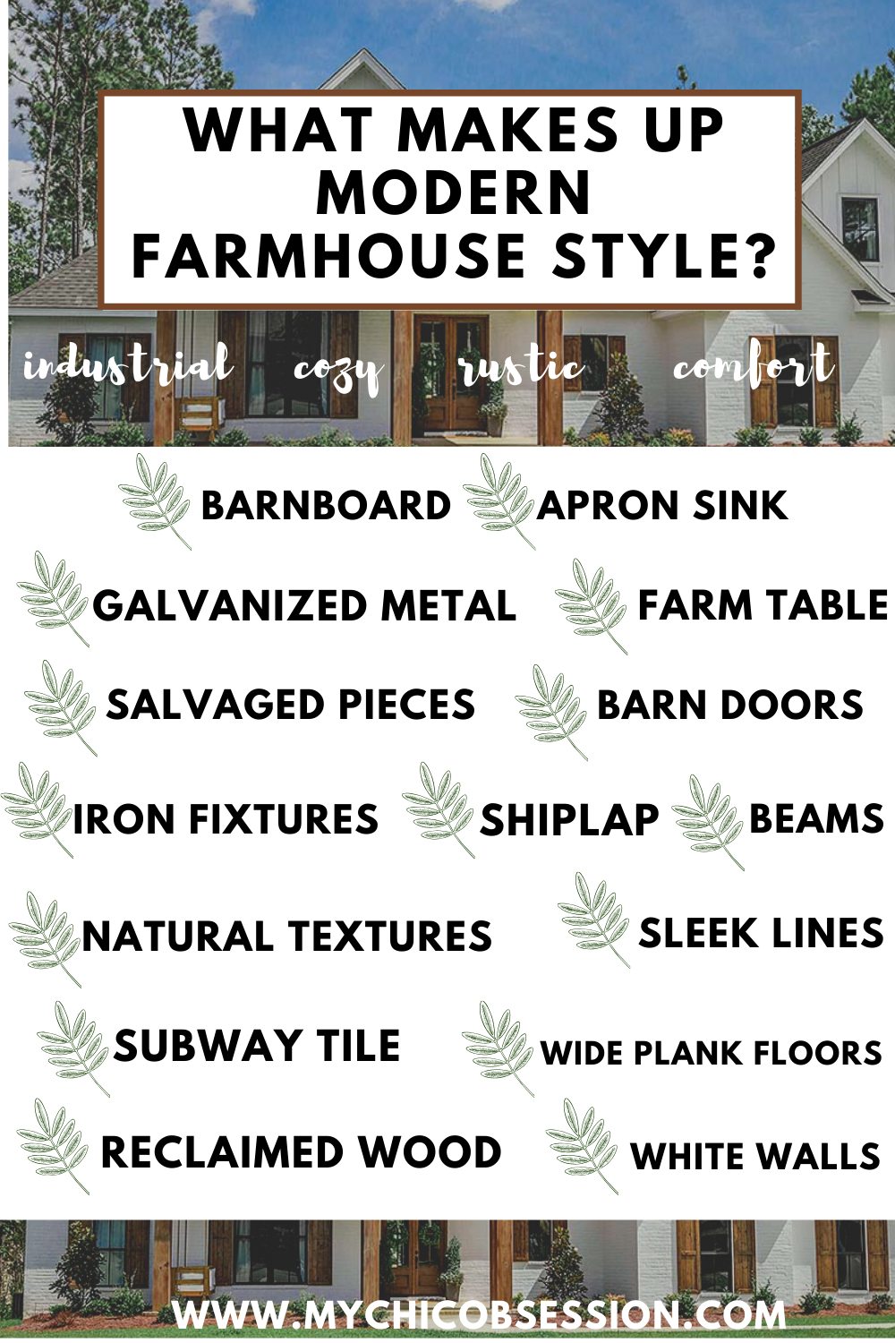 what is modern farmhouse style