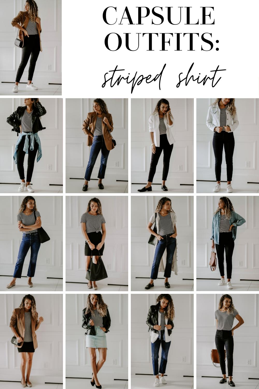 timeless wardrobe striped shirt