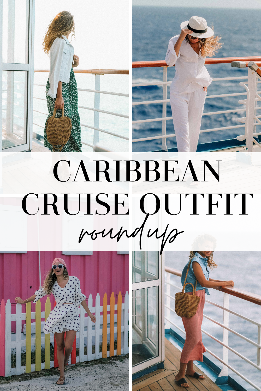 caribbean cruise outfit round up