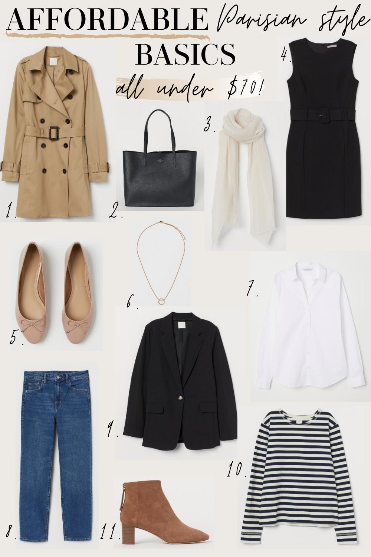 parisian style basics