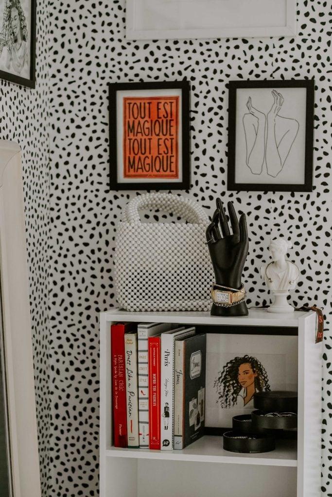 parisian inspired office