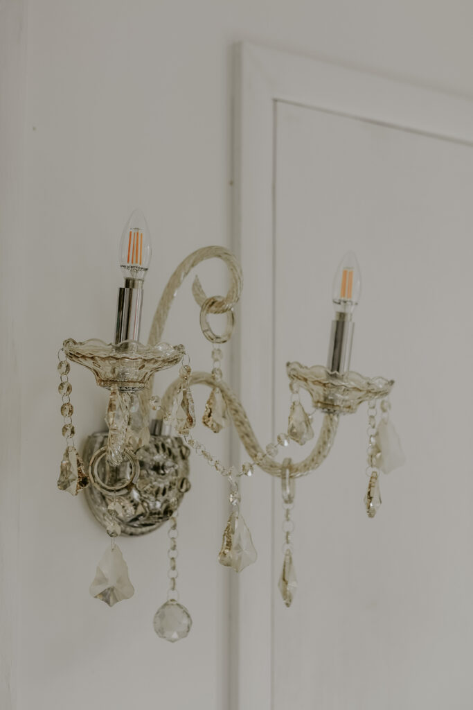 office crystal sconce