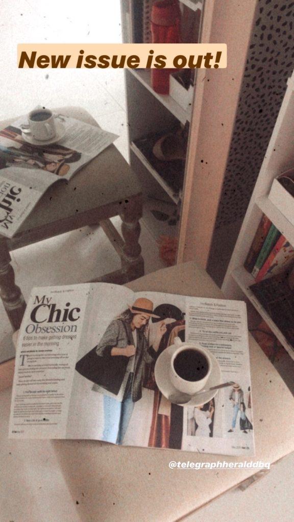 fashion columnist article