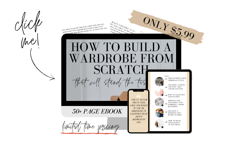 how to build a wardrobe from scratch ebook