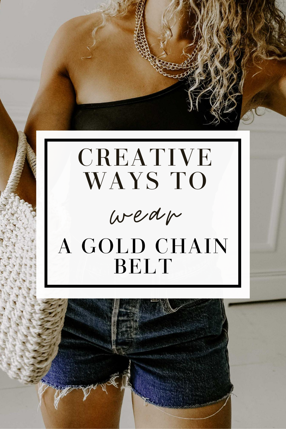 chain belt outfit