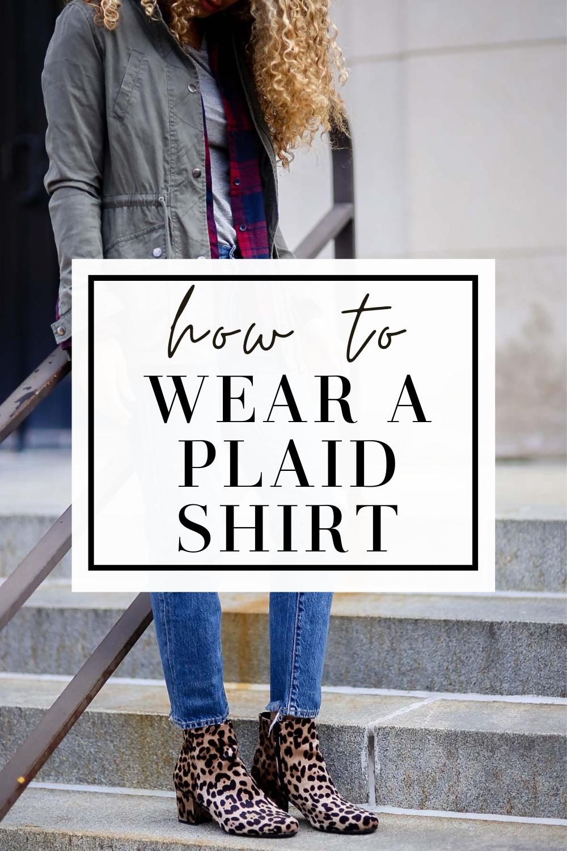 plaid shirt how to wear