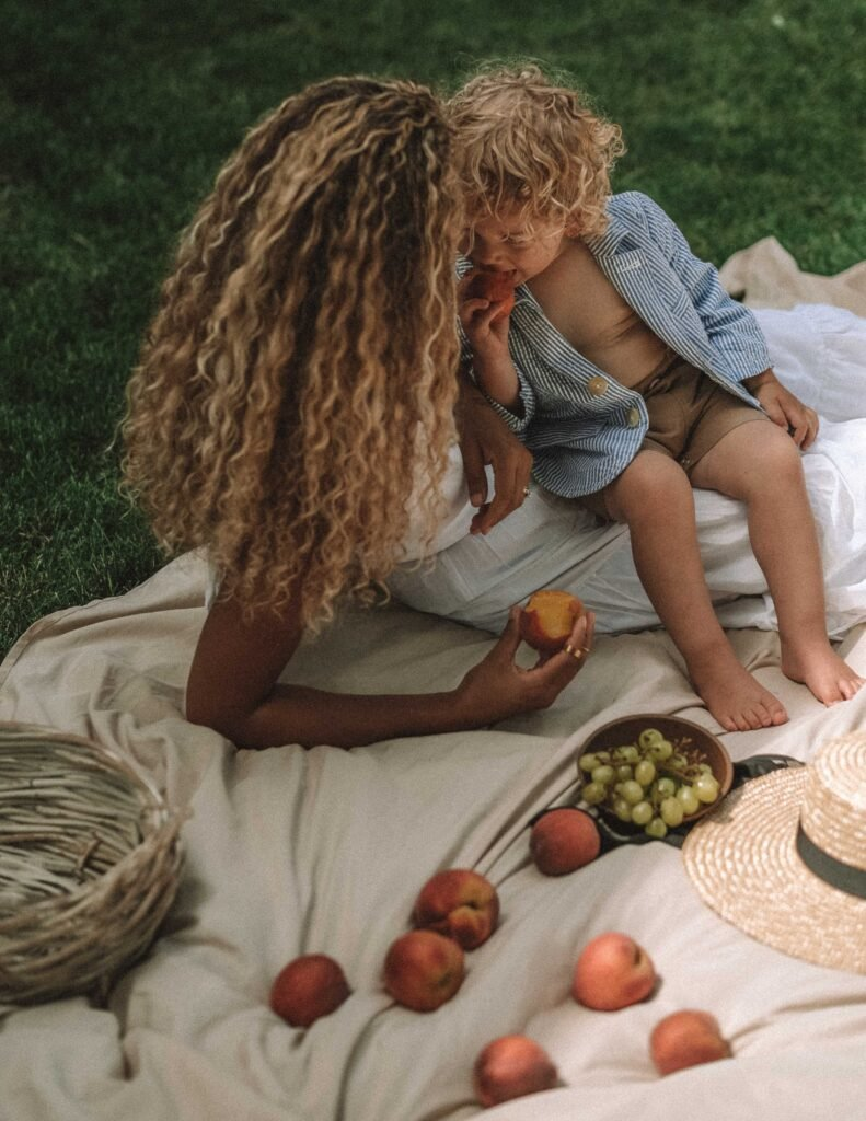styled picnic outdoors