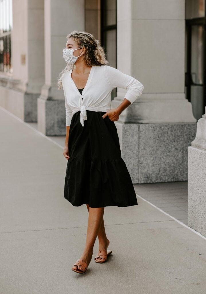 How to Wear a Skirt as a Dress