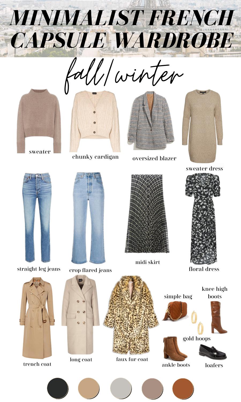 minimalist french capsule wardrobe