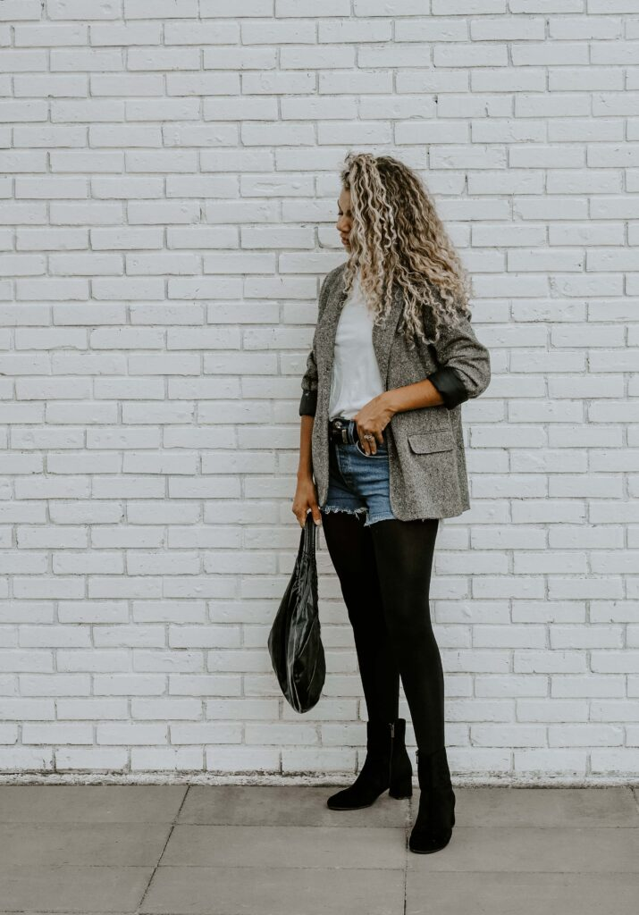 how to wear summer clothes in fall