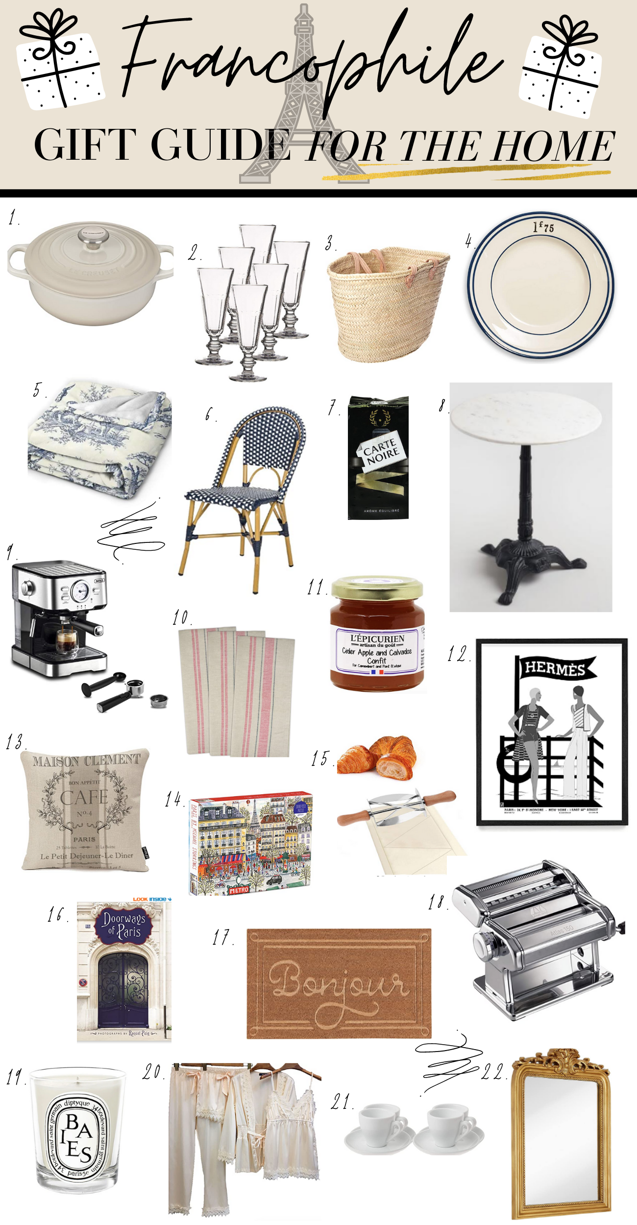 French gift ideas