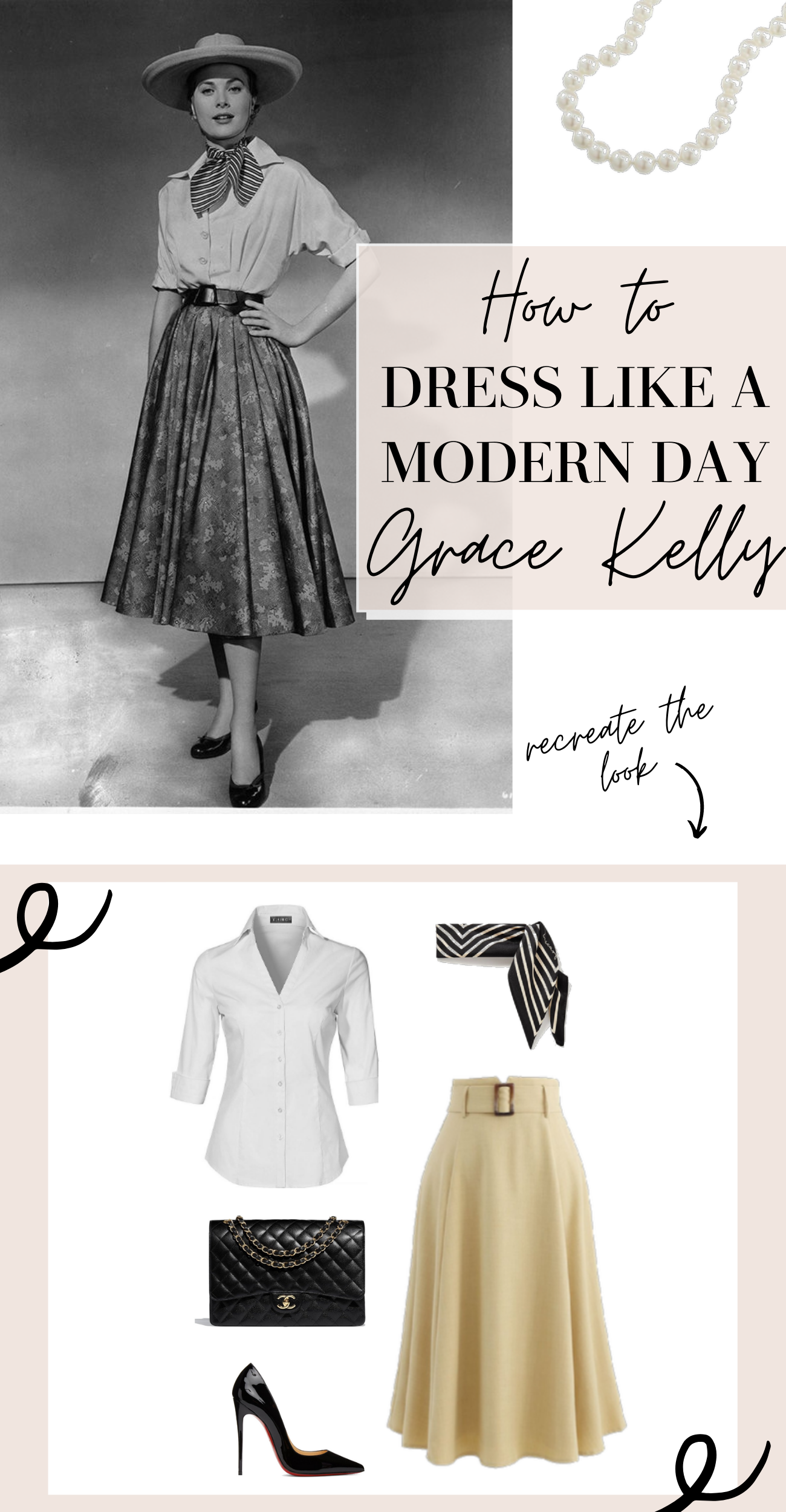 dress like grace kelly