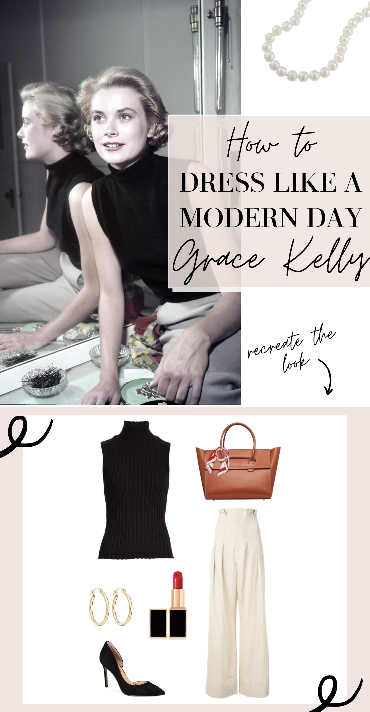 get grace kelly style