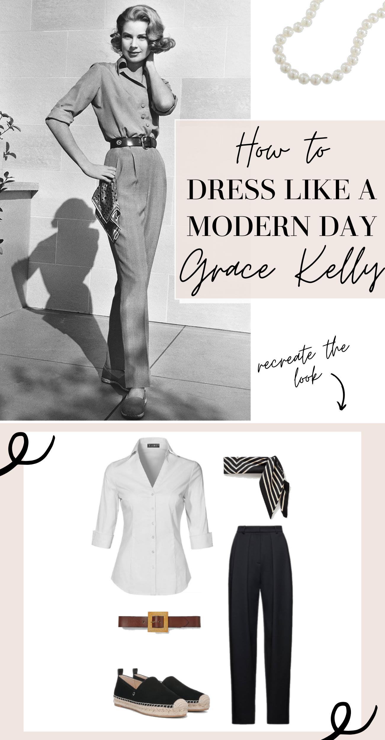 how to dress like grace kelly
