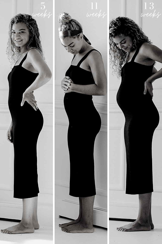 weekly pregnancy photos