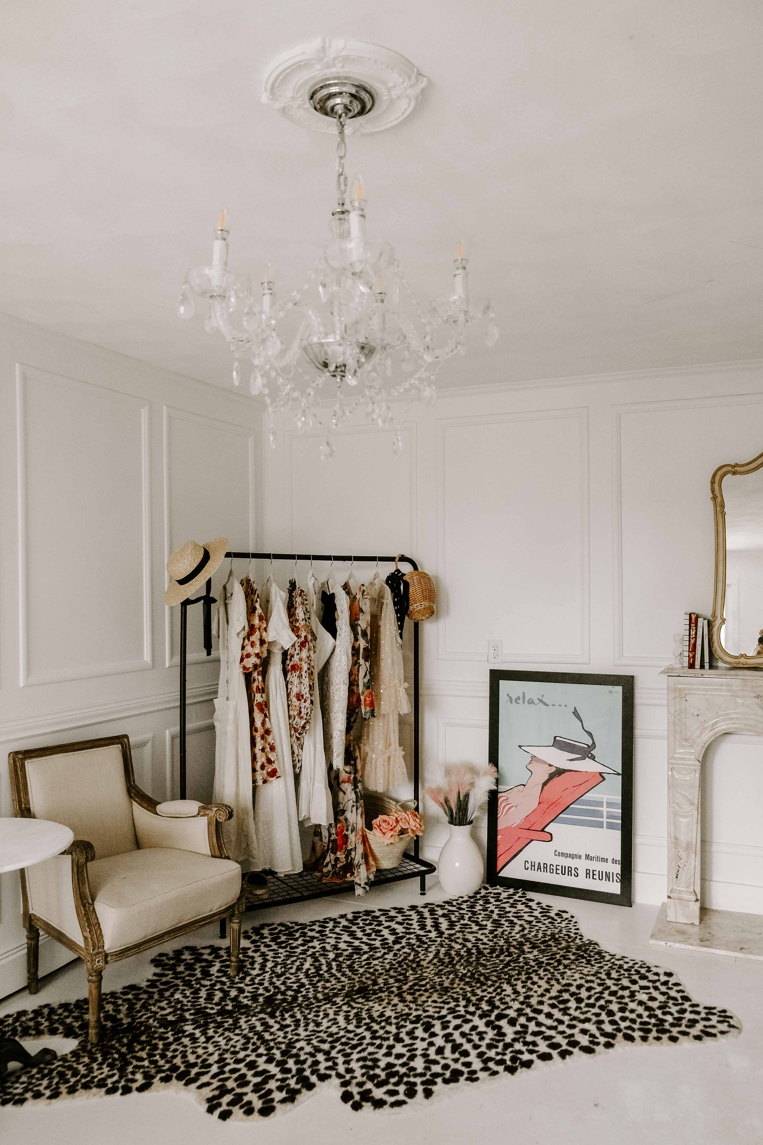 how to make your closet feel like a boutique