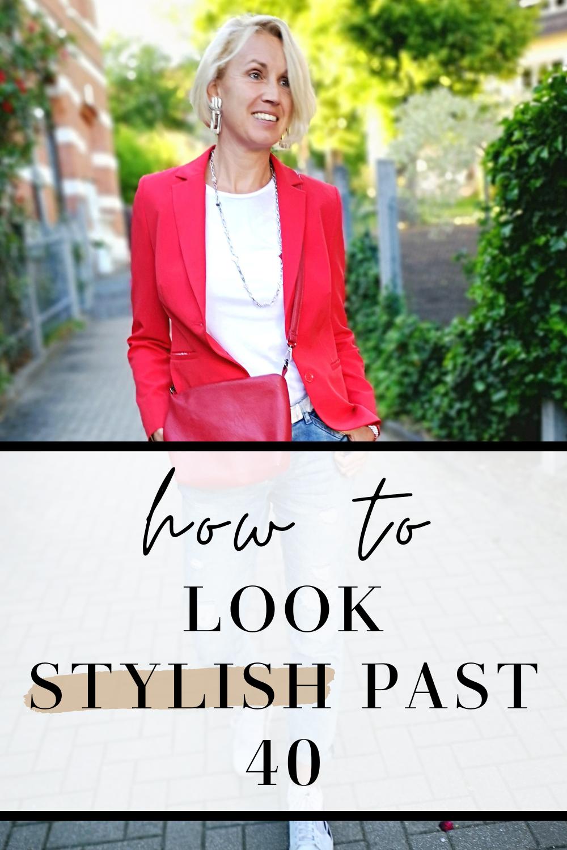 look stylish past 40