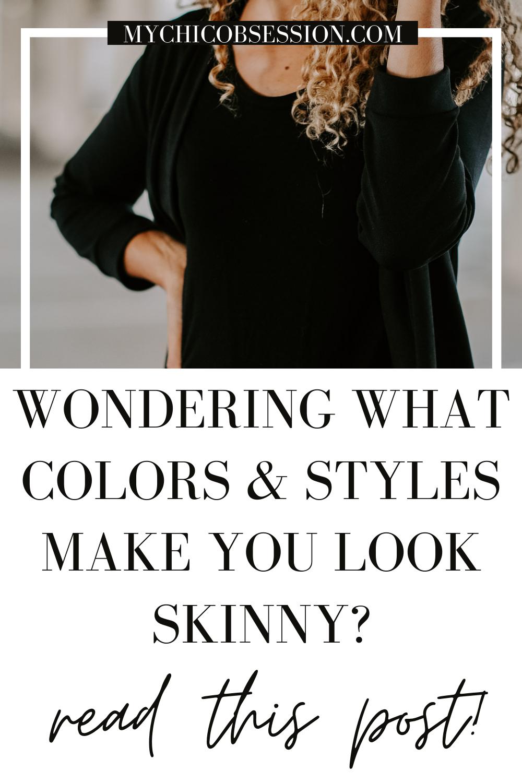 colors that make you look skinny