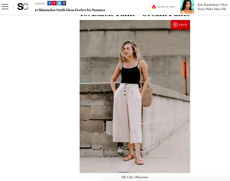 my chic obsession featured