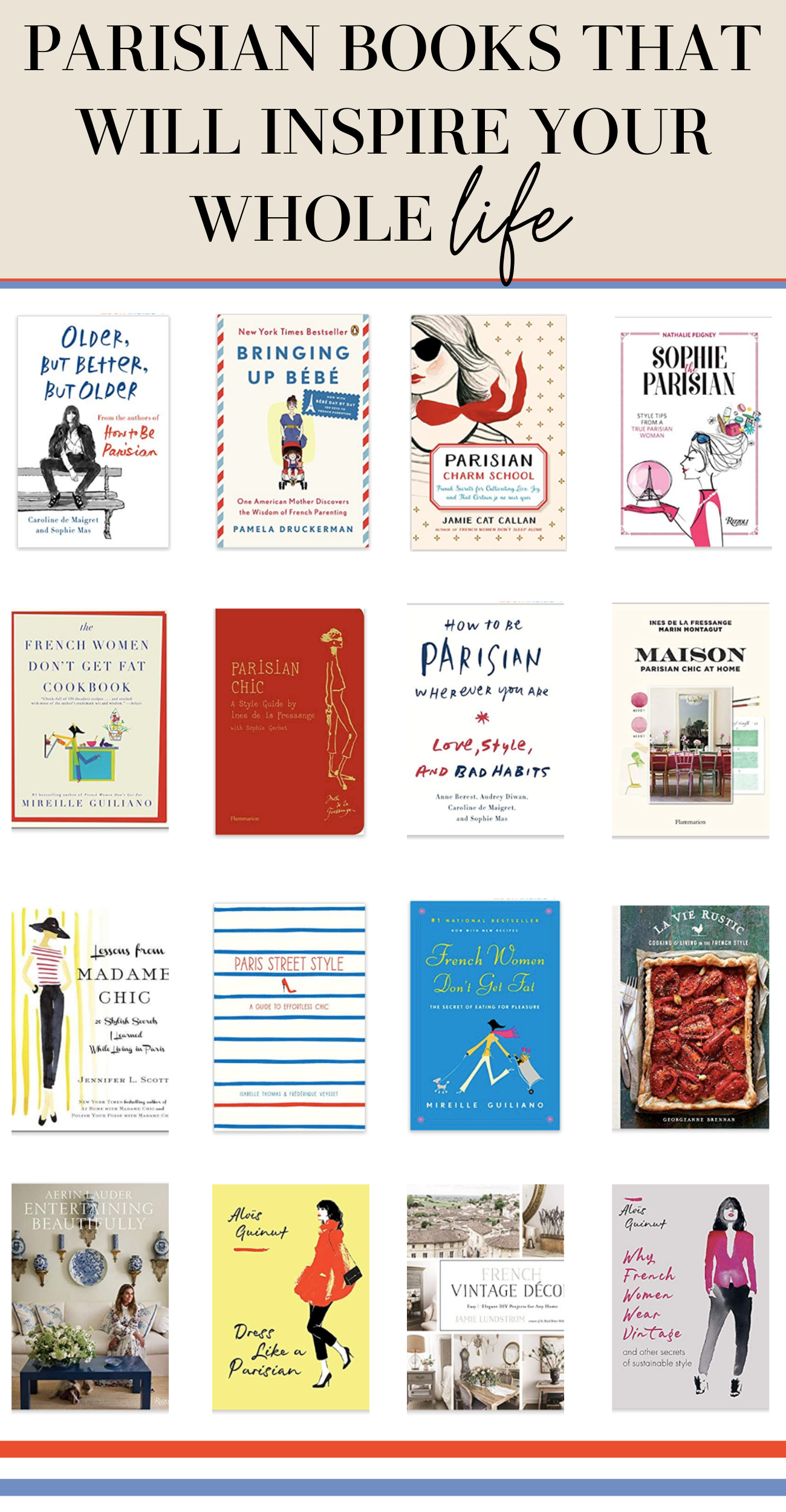 parisian books that will inspire your life