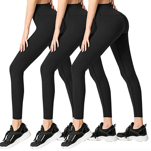 3 pack women leggings