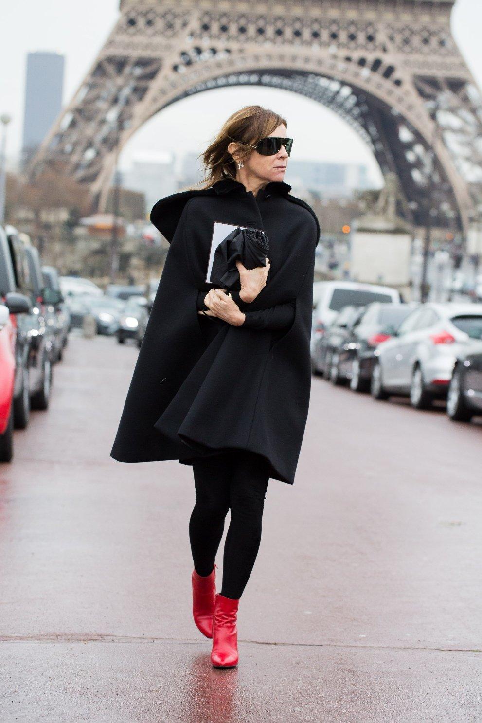 dress like a fashion editor