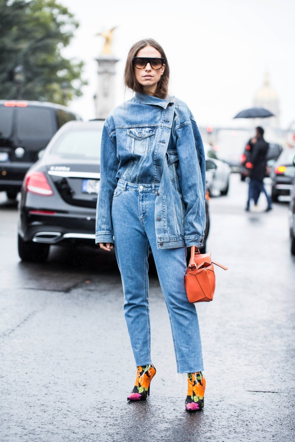 fashion magazine editor outfit