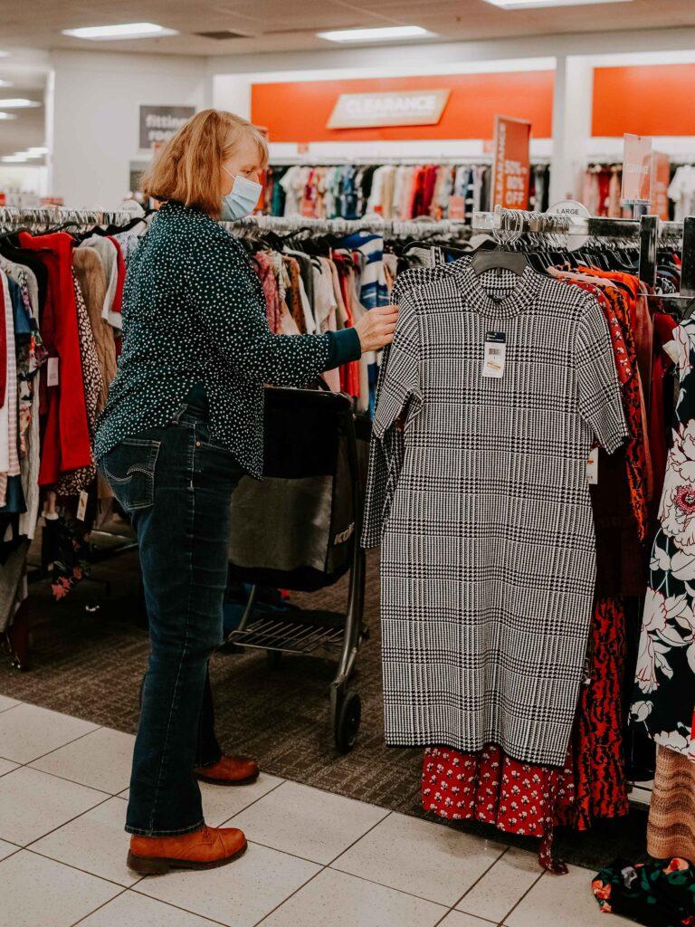 fashion over 50 shopping trip
