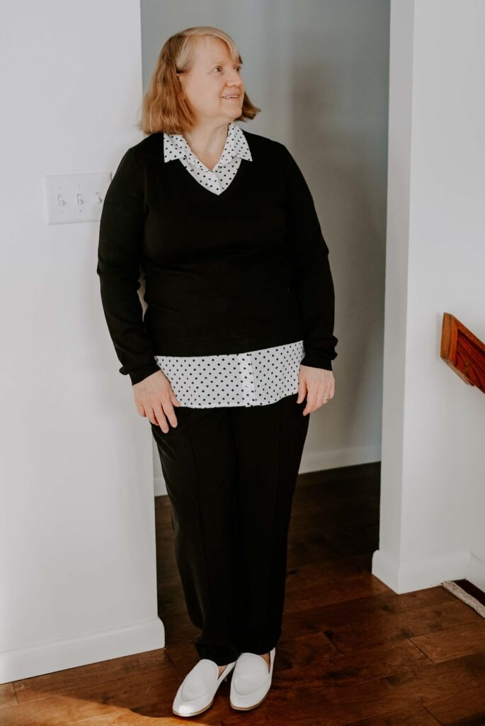 clothes that flatter women over 50
