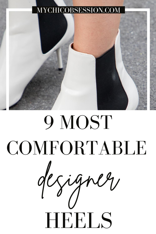 comfortable designer heels
