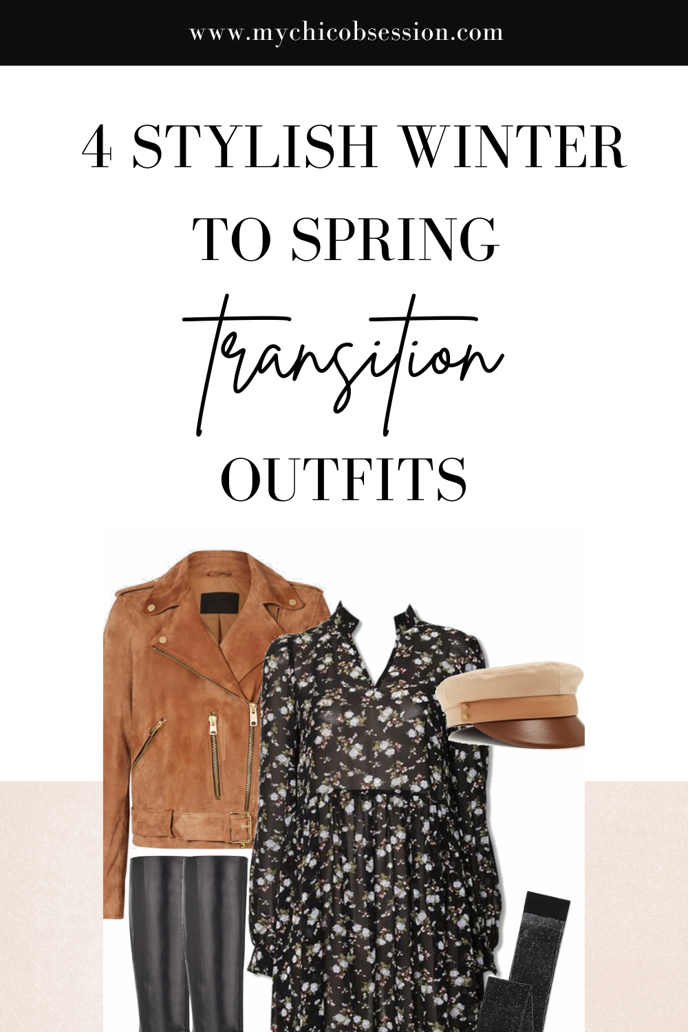 winter to spring transition outfit