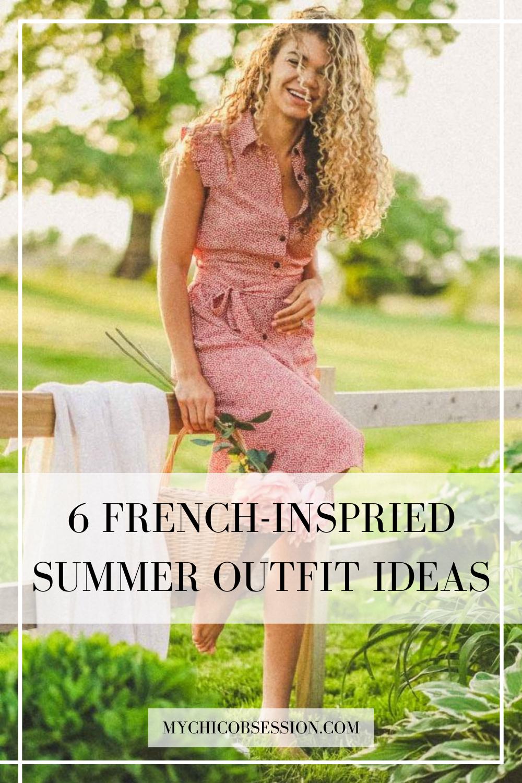 Parisian summer outfit ideas
