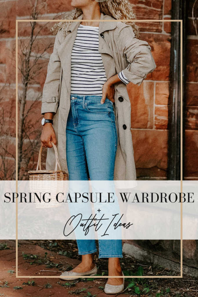 spring capsule wardrobe outfit ideas