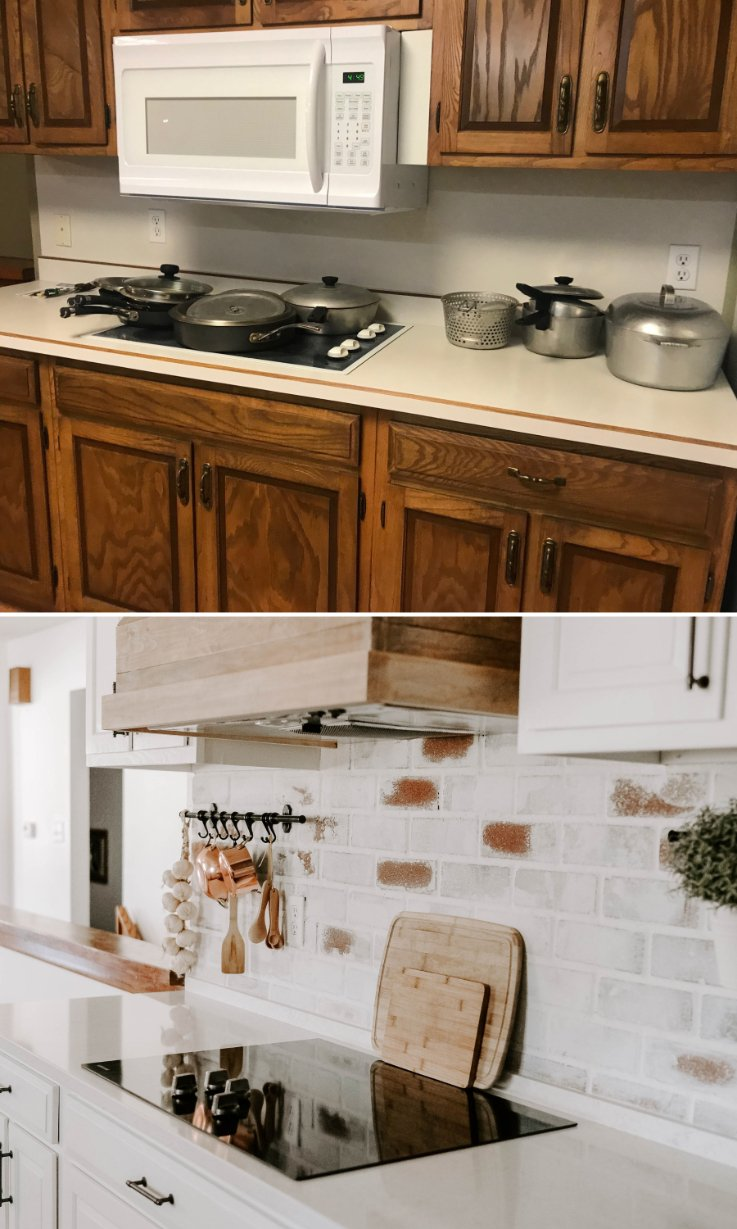 budget friendly french country kitchen reveal