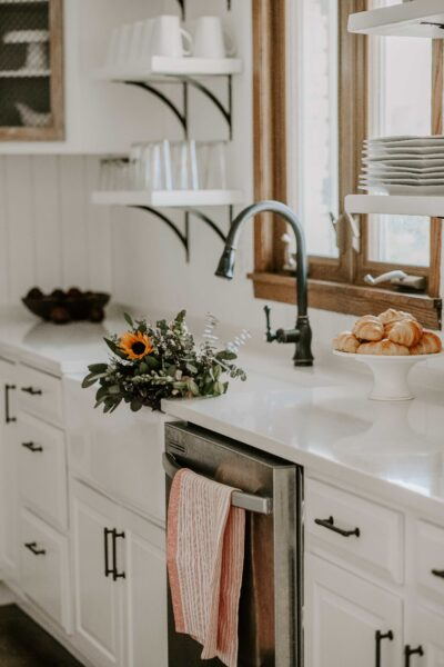 budget friendly french country inspired kitchen reveal
