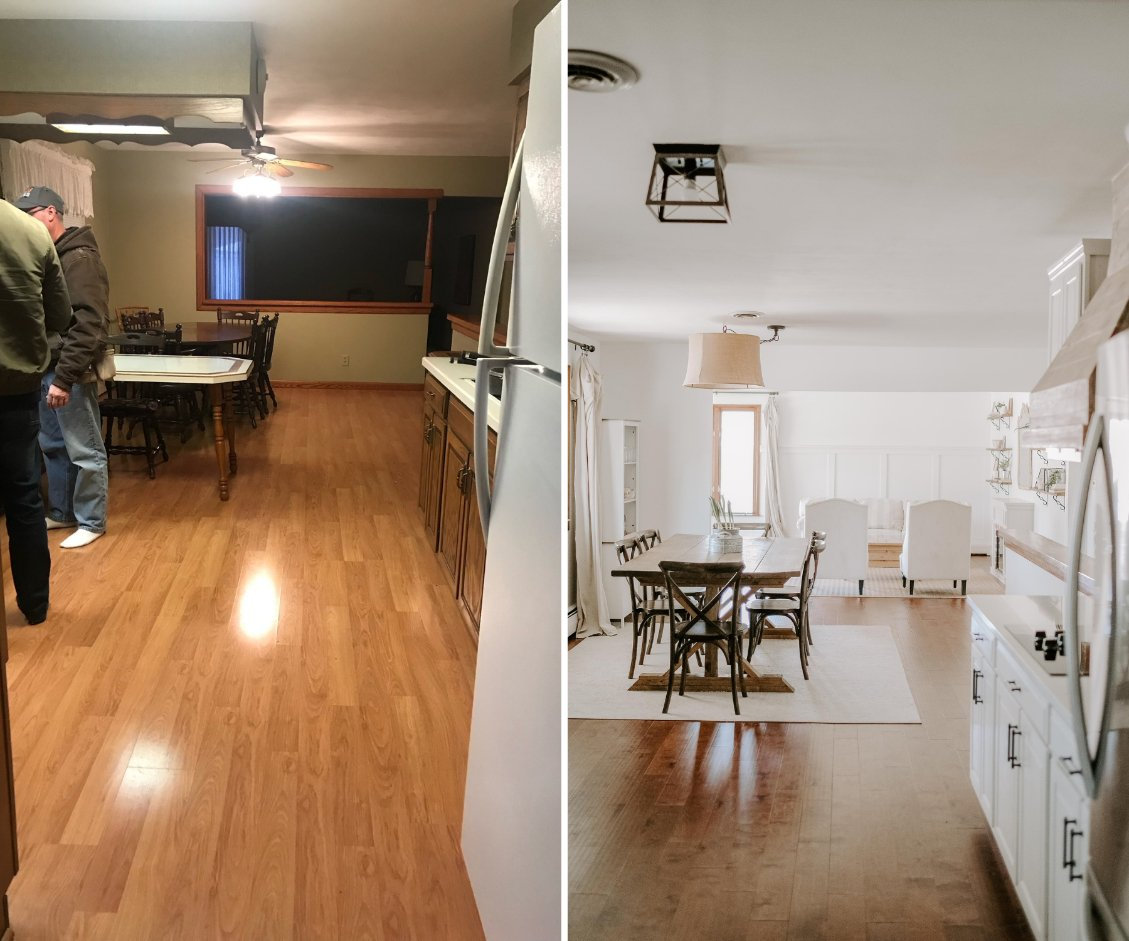 french country kitchen makeover before and after