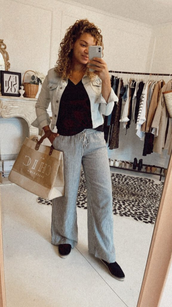 postpartum outfit