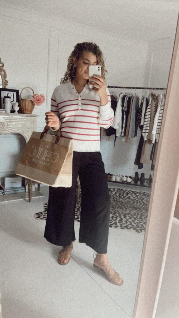 postpartum outfit idea