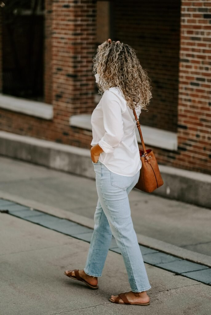 bucket bag outfit