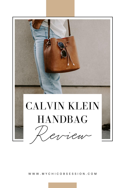 calvin klein handbag review
